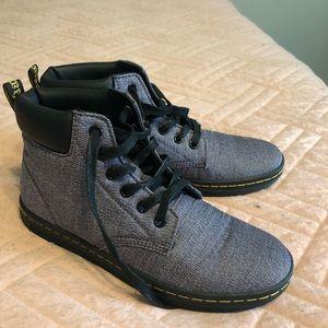 Purple Dr. Martens shoes